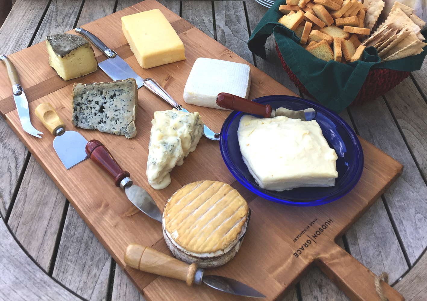 World Kitchen Personal Chef park city brie cheese-board-2