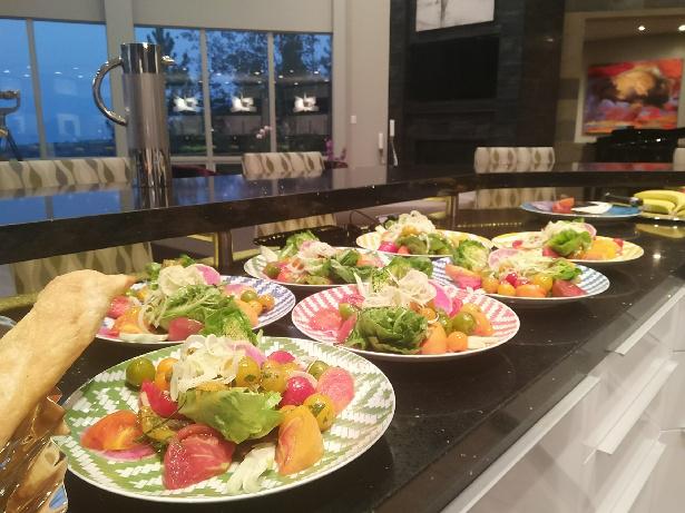 World Kitchen Personal Chef park city Olive Tomato Dish